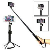 bluetooth selfie stick mit stativ fuer smartphone