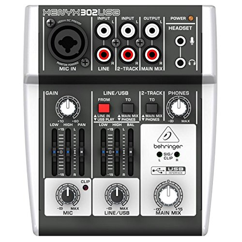 Behringer USB Analogmixer (Audio-Interface)